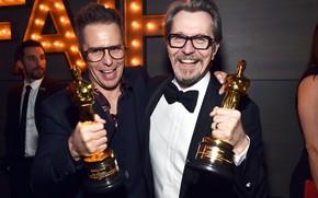 Picture Glasses, Smile, Costume, Oscar, Actors, Smile, Oscar, Bowtie, Glasses, Gary Oldman, Costume, Sam Rockwell, Actors, …