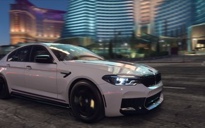 Wallpaper Need For Speed Payback, NFS, Electronic Arts, 2017, BMW M5