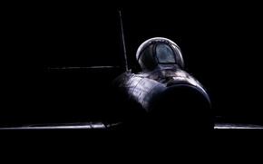 Wallpaper background, the plane, Newark Air Museum, Dassault Mystere