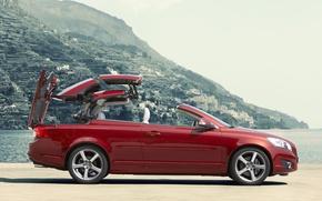 Picture coupe, Volvo, convertible, C70