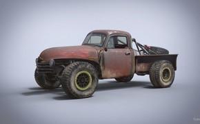 Picture car, Chevrolet 3100, Trophy Rat