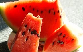 Picture still life, watermelon, berry