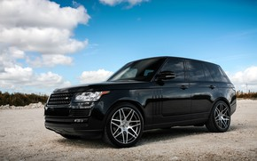 Picture Range Rover, with, color, body, HSE, trim, matched