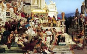 Wallpaper Henri Semiradzki, 1882, Luminaries of Christianity, The Torches Of Nero, oil, Canvas