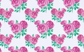 Wallpaper background, roses, pattern, texture