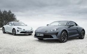 Picture pair, Alpine, Pure, A110, Legend