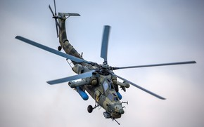 "Wallpaper Russia, shock, Mi-28N, ""Night Hunter"", helicopter"