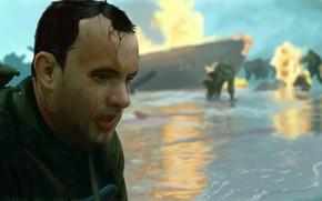 Picture Tom Hanks, Saving private Ryan, Saving Private Ryan