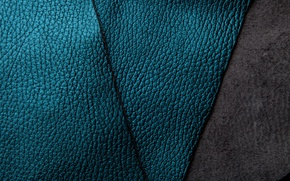 Picture leather, texture, blue, background, leather, suede