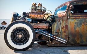 Wallpaper hot-rod, classic car, classic, retro