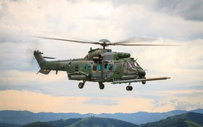 Picture army, helicopter, Brazil, Brazilian army, H225M Helibras