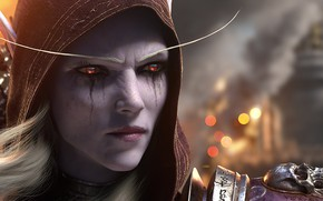 Picture World Of Warcraft, Silvanas Windrunner, The battle for Azeroth