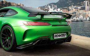 Picture Mercedes-Benz, rear view, AMG, 2018, RennTech, GT R