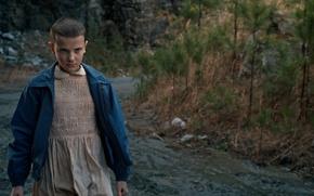 Picture dress, kid, season 2, tv series, Netflix, Stranger Things, gender bender