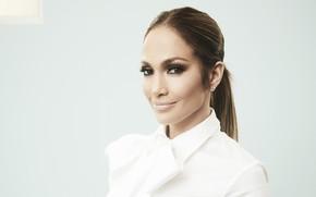 Picture smile, actress, singer, Jennifer Lopez, celebrity
