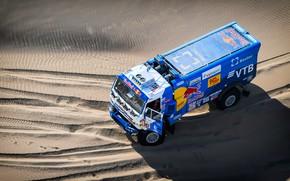 Picture Sand, Truck, Race, Master, Top, Russia, Kamaz, Rally, Dakar, Dakar, Rally, KAMAZ, 507, The roads, …