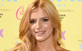 Picture face, actress, singer, Bella Thorne, Bella Thorne
