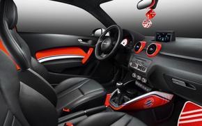 Picture Audi, the wheel, salon, seat, wortherse