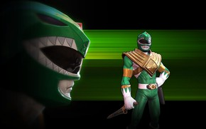 Picture game, armor, weapon, Power Rangers, green ranger, dagger, Power Rangers: Legacy Wars, Tommy Oliver, Tommy …