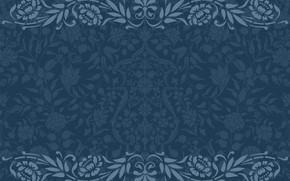 Picture blue, retro, pattern, Texture