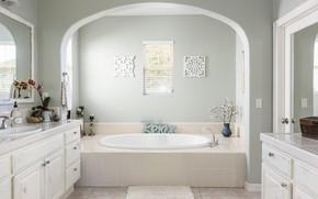 Wallpaper design, bathroom, plumbing