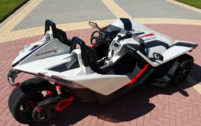 Picture beautiful, comfort, hi-tech, Polaris, Slingshot, technology, sporty, tricycle, 044