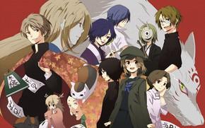 Picture anime, art, Natsume Yuujinchou, The Natsume book of friendship, Characters, Youkai