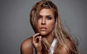 Wallpaper girl, hot, sexy, eyes, smile, beautiful, model, pretty, beauty, lips, face, hair, brunette, pose, cute, ...