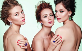 Picture look, actress, Yuliya Snigir, Victoria Isakova, Svetlana Ustinova