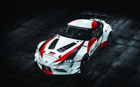 Picture coupe, Toyota, 2018, wing, GR Supra Racing Concept