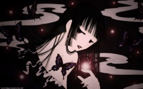 Picture look, girl, anime, makeup, art, xxxHolic