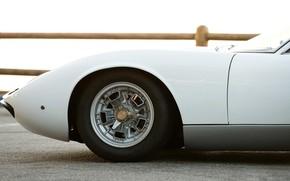Picture Auto, Lamborghini, White, Retro, Disk, Machine, Wheel, 1969, Car, Supercar, Miura, Supercar, Lamborghini Miura, Italian, …