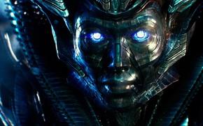 Picture cinema, robot, mecha, alien, movie, Transformers, face, film, steel, Transformers: The Last Knight