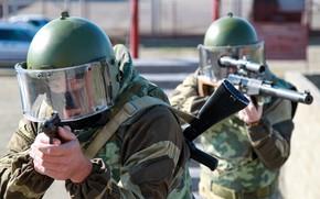 Wallpaper weapons, special forces, helmet, helmet