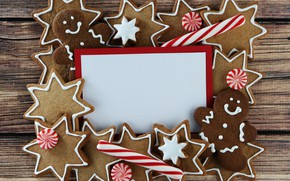 Picture holiday, new year, cookies, candy, christmas, decor, glaze, candy, cookie