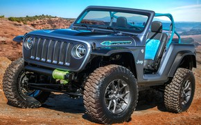 Wallpaper Concept, 2018, Wrangler, Jeep, 4speed
