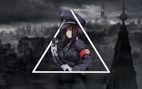 Picture anime, anime, geometric shapes, Gothic, madskillz, madskillz