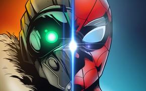 Picture cinema, spider, man, boy, cartoon, Marvel, movie, Spider-man, hero, film, mask, Spiderman, Vulture, uniform, yuusha, …
