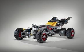 Picture The Lego Batman, Batmobile, toy, bat, Batman, Lego