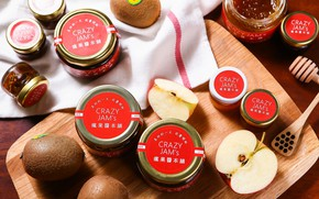 Picture apples, jars, honey