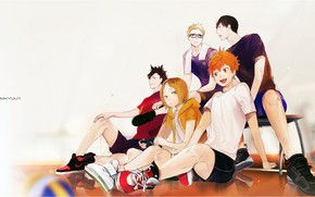 Picture sport, guys, Volleyball, Haikyuu!!