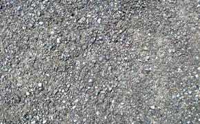 Picture texture, background, stones, gray, ground, gravel