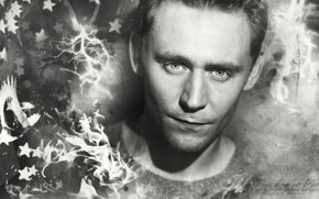 Picture look, actor, Tom Hiddleston, Tom Hiddleston