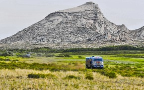 Picture The sky, Nature, Mountains, Rocks, Mountain, Sport, Speed, Truck, Race, Master, Beauty, Russia, Beast, Kamaz, …