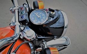 Picture Headlight, USSR, IZH - Planeta - Sport, Retro-Moto