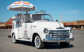 Picture Chevy, Truck, Ice Cream, 1952