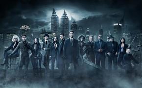 Picture the series, Camren Bicondova, roof, Season 4, the city, Ben McKenzie, night, Camren Bikondoa, casting, ...