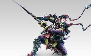 Picture Windows, sword, game, armor, man, ken, blade, samurai, asian, mask, Tekken, oriental, asiatic, PlayStation 4, …