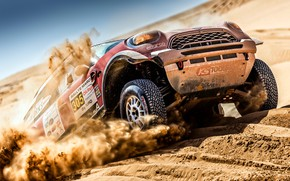 Picture Sand, Auto, Mini, Sport, Desert, Machine, Speed, Race, Lights, Car, Rally, SUV, Rally, The front, …