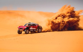 Picture Sand, Mini, Sport, Desert, Machine, Speed, Rally, Dakar, Dakar, Rally, Dune, Buggy, Buggy, X-Raid Team, …